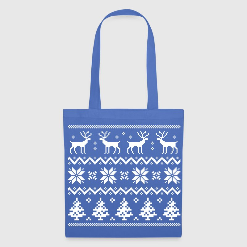 Merry Christmas pattern 4 - Tote Bag