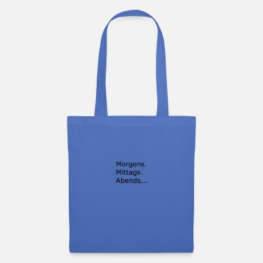 Morning In the morning - Tote Bag