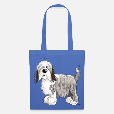 Bearded Collie The Bearded Collie - Tote Bag