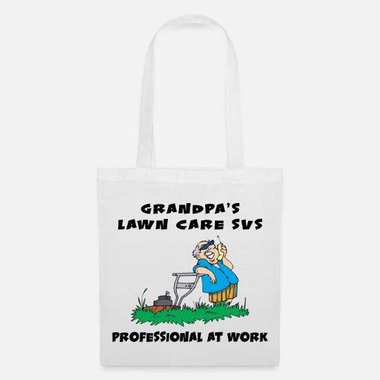 Grandad Bags & Backpacks - REMOVE TAGS FIRST - Tote Bag white