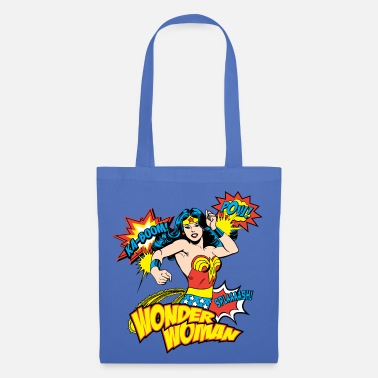 Superheld DC Comics Retro Wonder Woman - Stoffbeutel