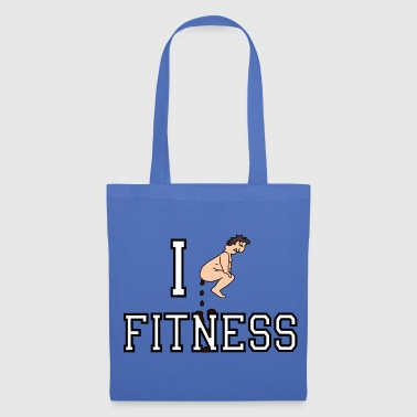 I shit on Fitness - Borsa di stoffa