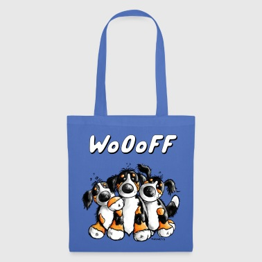 Woooff Bernese Mountain Dogs - Tote Bag