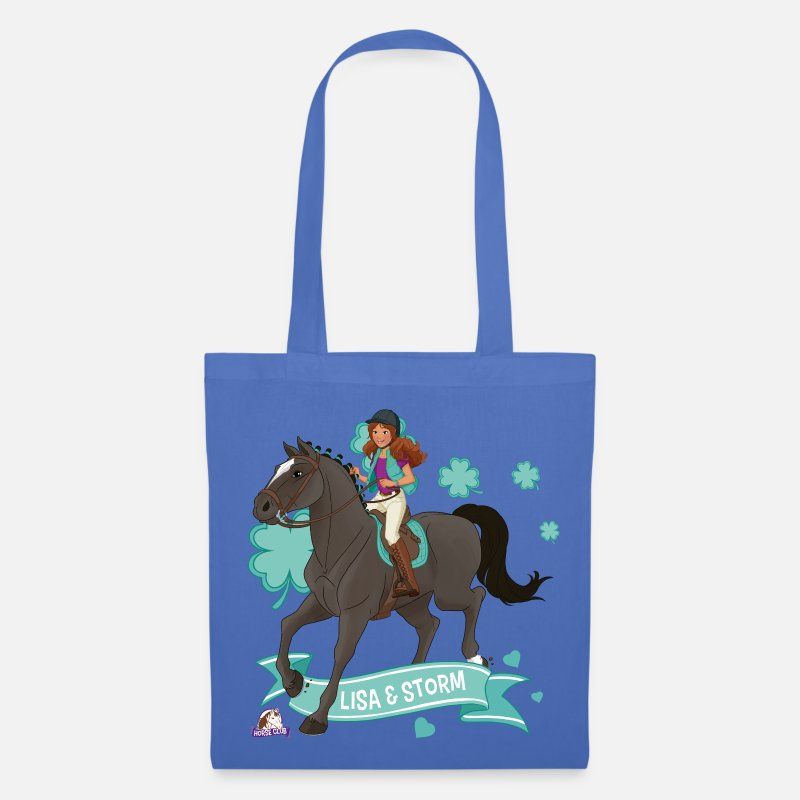 Club Bags & Backpacks - Schleich Horse Club Lisa & Storm ride together - Tote Bag light blue