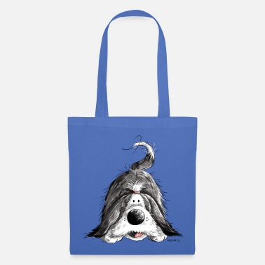 Bearded Collie Funny Bearded Collie - Tote Bag