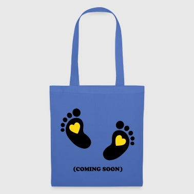 Baby - coming soon - 2c - Tote Bag
