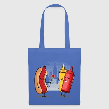 Hot Dog Love Ketchup - Tote Bag