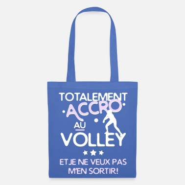Volley Accro au volley - Tote Bag