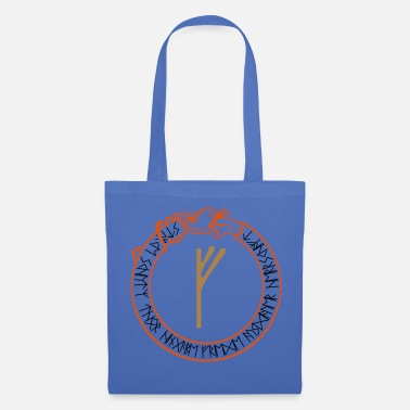Norman Rune de protection Fehu - prospérité - vecteur - Tote Bag