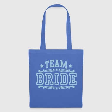 team bride - Stoffveske