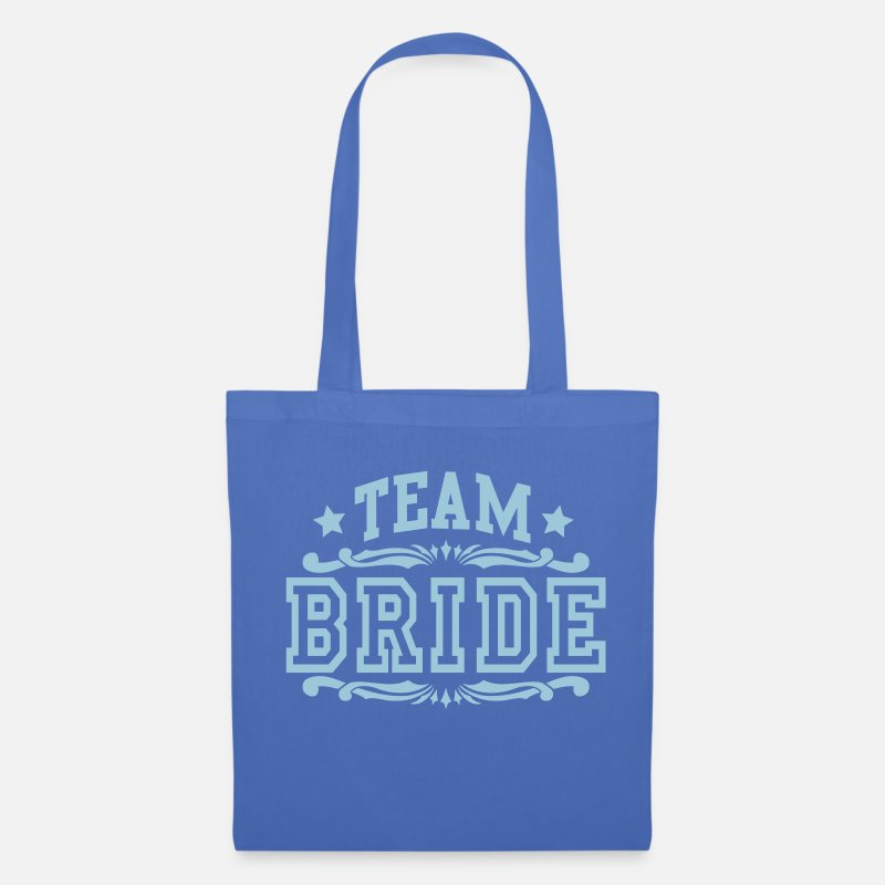 Bride Bags & Backpacks - team bride - Tote Bag light blue