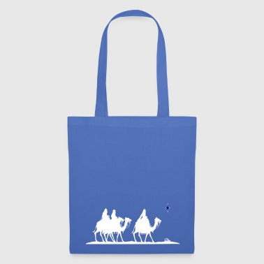 Bethlehem Three Magi silhouette with Jesus Nativity - Tote Bag