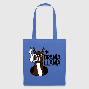 no drama llama joint smoking cool sunglasses han - Tote Bag