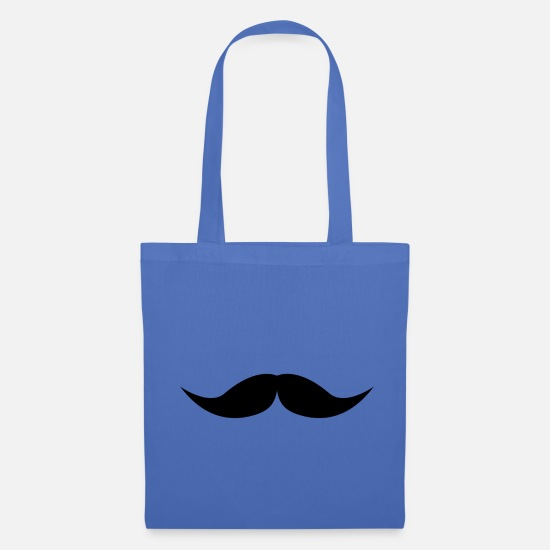 Like A Sir Bags & Backpacks - mustache - Tote Bag light blue