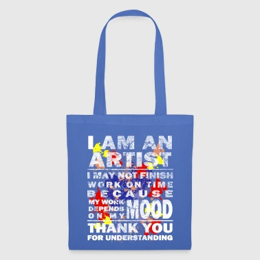 Art artist paint drawing gift - Tote Bag