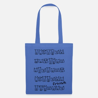 Dog Friend dogs friends dogs friends - Tote Bag