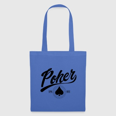 Poker Design Poker Card Cool Pott Gambling Fun - Borsa di stoffa