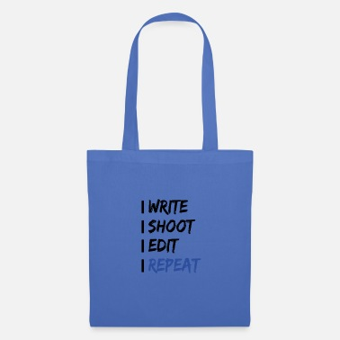 Daily routine Filmmaker !! - Tote Bag
