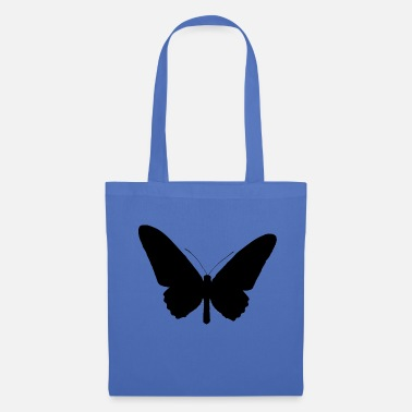 Form Butterfly silhouette black - Tote Bag