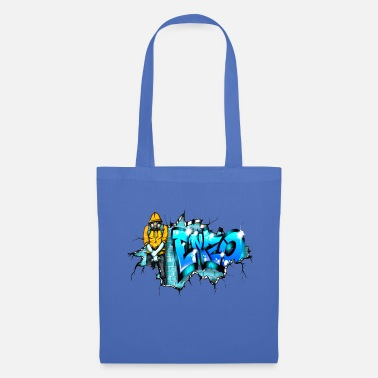 Enzo GRAFFITI ENZO PRINTABLE ON EVERYTHING - Tote Bag