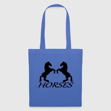 Horses horse riding equitation - Tote Bag