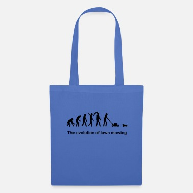 Mow Mowing the evolution - Tote Bag