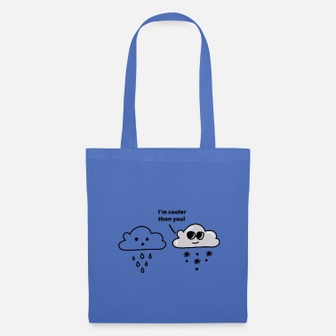 Weather Snow cloud rain cloud - Tote Bag