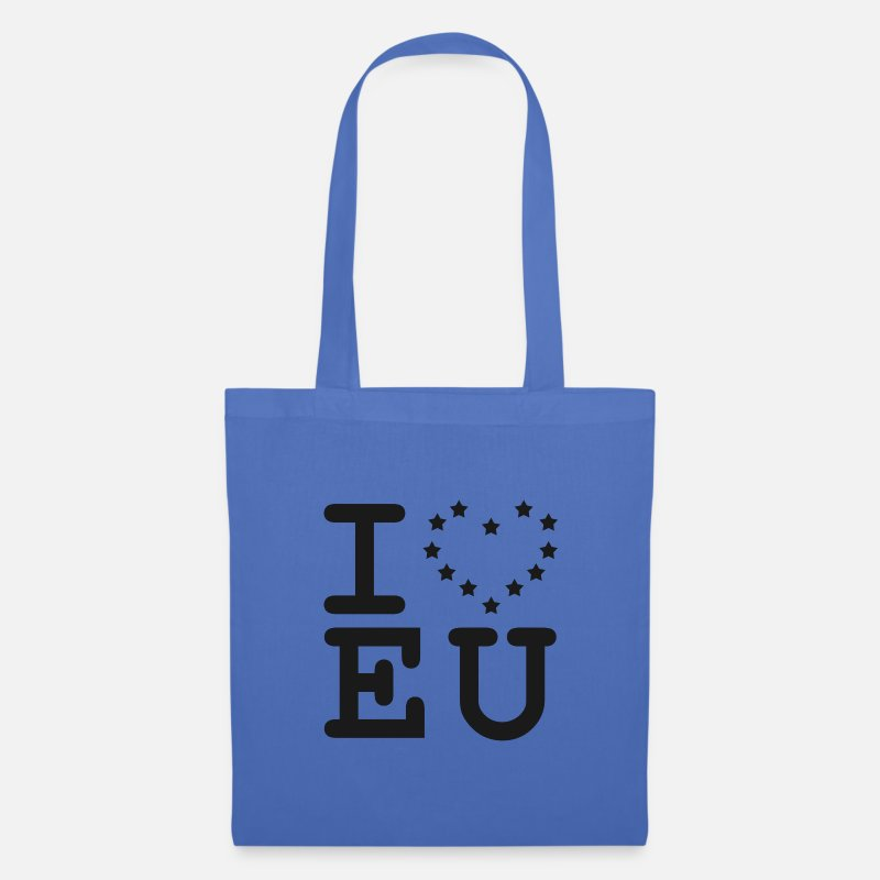 Brexit Bags & Backpacks - i love EU European Union Brexit - Tote Bag light blue