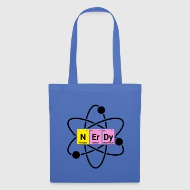Nerdy atomic periodic table - Tote Bag