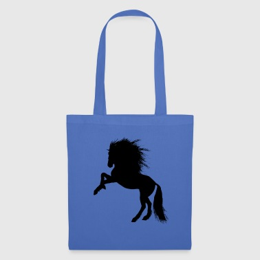 Cheval, poulain, jument, étalon, - Tote Bag