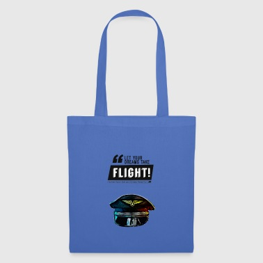 Let Your Dreams Run Free Pilot Gift Idea - Tote Bag