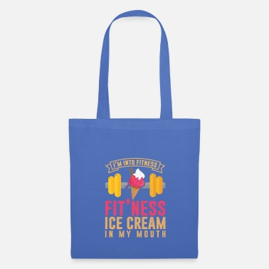 Alimento I'm Into Fit'ness Ice Cream - Bolsa de tela