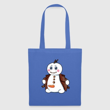 Bonhomme de neige exhibitionniste - Tote Bag