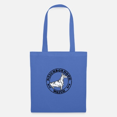 Neighborhood Neighborhood Guard Doberman Used Look - Tote Bag