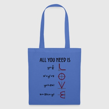 All you need is Love (Equations) Geschenk - Stoffbeutel
