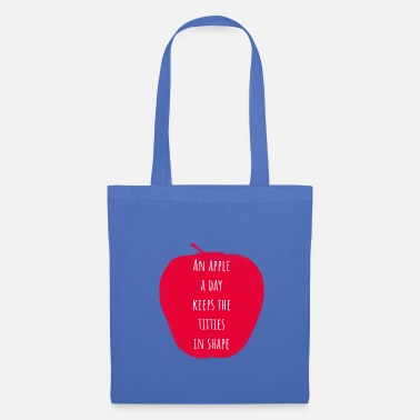 Banana An apple a Day Every day an apple - Tote Bag