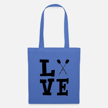 Target Love with darts black - Tote Bag