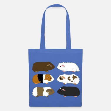 six guinea pigs 1 - Tote Bag