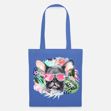Animal Planet Cute Frenchie With Sunglasses - Tote Bag