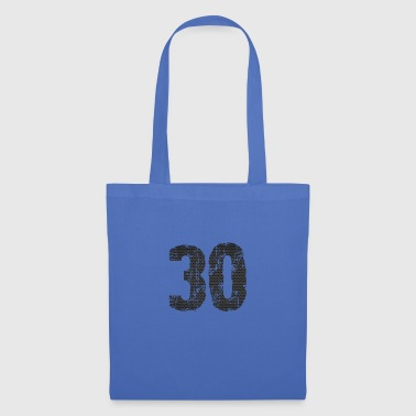 number - Tote Bag