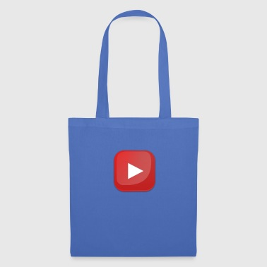 Youtube botton - Bolsa de tela
