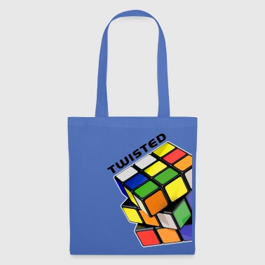 Cube Rubik's Cube Twisted Rotation État Mélangé - Tote Bag