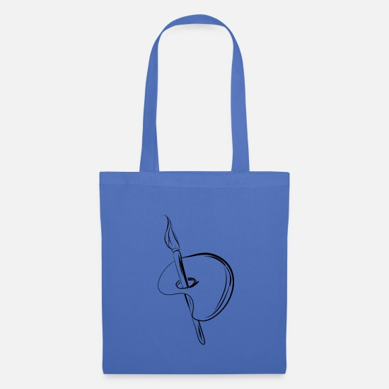 Gift Idea Bags & Backpacks - Color palette, creative, artist gift idea brush - Tote Bag light blue