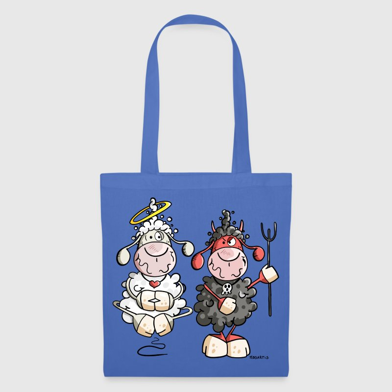 Devil vs Angel Sheep - Tote Bag