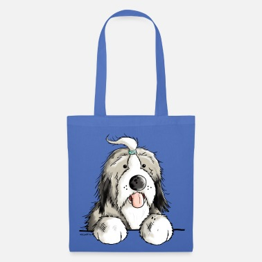 Bearded Collie Happy Bearded Collie - Tote Bag