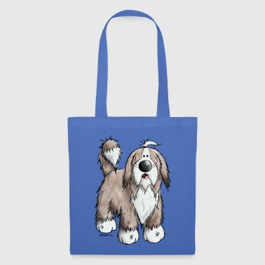 Bearded Collie Il Bearded Collie - Borsa di stoffa