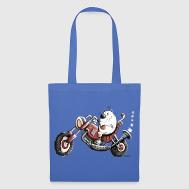 Chat Moto  - Tote Bag