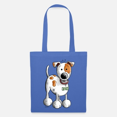 Jack Cute Jack Russell Cartoon - Tote Bag