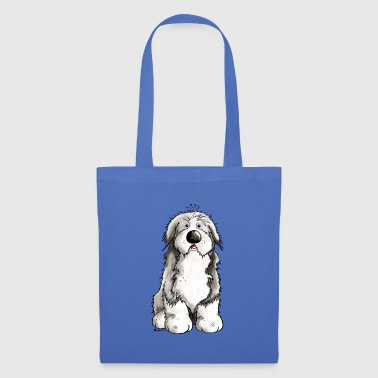 Bearded Collie Divertente Bearded Collie - Bearded Collies - Borsa di stoffa