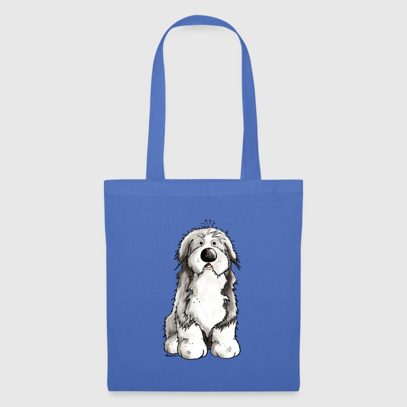 Funny Bearded Collie - Tote Bag